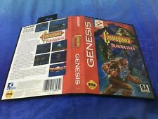 Castlevania SEGA Mega Drive USA Version - Custom Game - Grade AAA+++
