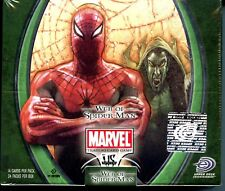 Marvel Web of Spider-Man Marvel vs System CCG Booster Card Box