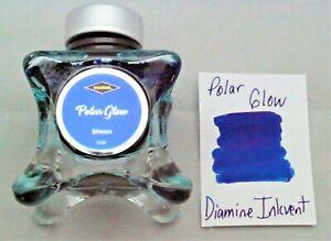 Diamine 50 ml Blue Edition Fountain Pen Bottled Ink Inkvent Polar Glow