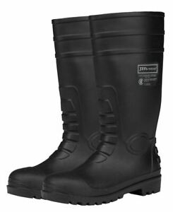 JB's wear Steel Toe Cap & Plate Safety Gumboot Puncture Resistant Anti-Static