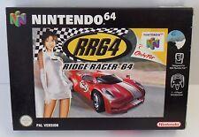 Nintendo 64 RR64 Ridge Racer 64 OVP N64 - NEU NEW