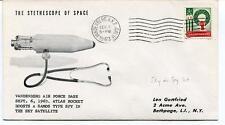 1963 Stethescope Space Vanderberg Air Force Base Atlas Rocket Sky Satellite NASA