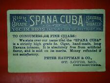 CIGAR INK BLOTTER VINTAGE SPANA CUBA CIGAR MORE BLOTTERS AT GOLDENHILL3898