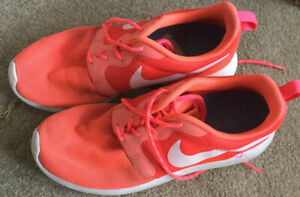 Men's NIKE 'Free RN Flyknit' Style SZ 8 US Runners Orange EC✅Reduced!