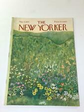 The New Yorker: May 22 1971 - Full Magazine/Theme Cover Ilonka Karasz