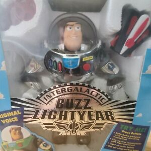 TOY STORY INTERGALATIC BUZZ LIGHTYEAR Unopened  Complete Action Figure Disney
