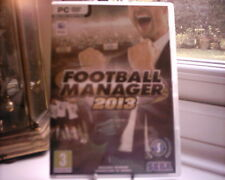 FOOTBALL MANAGER 2013 (Sega - PC/Mac DVD Edition) with Booklet.