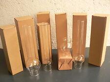 LOT de 12 VERRES de LAMPE à PETROLE  au choix