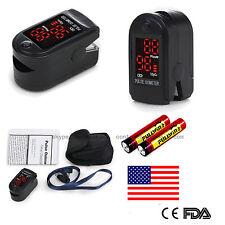 US stock Pulse Oximeter Finger Tip Pulse Blood Oxygen SpO2 Monitor FDA,battery