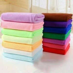 Quick Travel Towel Sport Fiber Drying Absorbent Microfibre AU Washcloth Sport