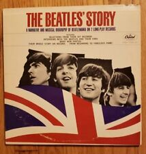 """""""The Beatles' Story"""" The Beatles 2 LP  Capitol TBO 2222 MONO NM VERY 1ST PRESS!"""