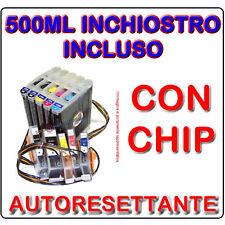 CISS SISTEMA DI STAMPA CONTINUO PER CANON IP7250 MG5550 MG5650 CHIP AUTORESET