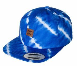 DC Shoes Pouf Hommes Réglable Buckleback Chapeau Bleu Neuf