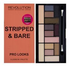 Makeup Revolution STRIPPED & BARE Pro Look 3 in 1 Eyeshadow Palette Free Postage