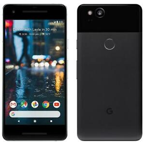 "Google Pixel 2 64GB/128GB Android 5"" Unlocked SmartPhone Black White Blue"