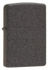 Zippo Windproof Lighter, Iron Stone Matte, 211, New In Box