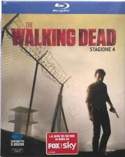 Blu-ray The Walking Dead - Stagione 4 - cofanetto slipcase 5 dischi Nuovo