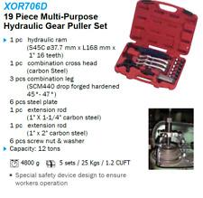 Liquidation - 19 Piece Multi-Purpose Hydraulic Gear Puller Set - 706D