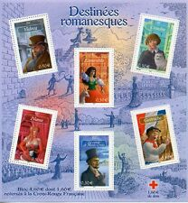 STAMP / TIMBRE FRANCE NEUF BLOC N° 60 ** CELEBRITES LITTERATURE FRANCAISE