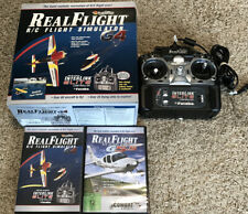 Real Flight R/C Simulator G4 Interlink Elite Controller 4 Disc Set G5.5 DVD