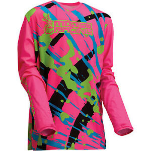 Moose Racing 2022 Motorcycle Youth Agroid Jersey Pink All Sizes