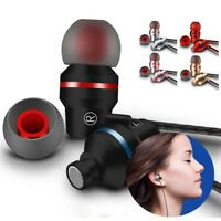 Metal Stereo Bass Headphone Earphone Sport Headset Hands Free Earbuds With Mic A