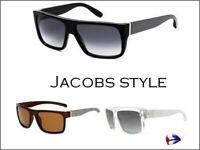💯 Lunettes de soleil monture Jacob homme miroir top vintage marc metal 💯
