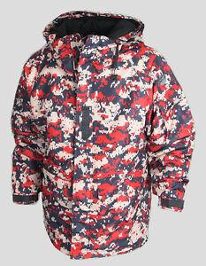SOUTHPLAY Mens Ski Snowboard Hood Jacket Jumper Parka Suits Blazer Top ACU RED
