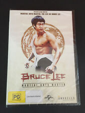 BRUCE LEE Martial Arts Master DVD. Region 4. Brand New & Sealed
