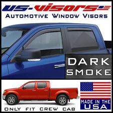 Us Visors Window Vent Visors In Channel Fits 2005 2020 Nissan Frontier Crew Cab Fits 2011 Nissan Frontier