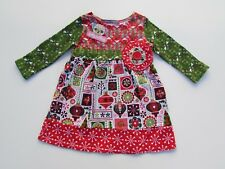 Jelly The Pug Christmas Tree Skirt Whimsical Boutique Girls Toddler Size 24m Clothing, Shoes & Accessories Skirts