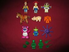 LEGO Toy Story minifigures LOT Woody,Jesse,Buzz,Bullseye,Ham,Lotso,Chunk,Stretch