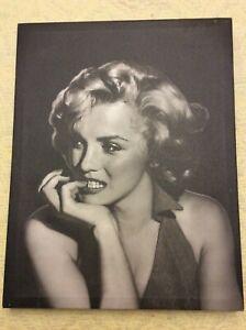 Marilyn Monroe Canvas Jerry Michaels The Thinker JM02