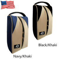 Golf Shoes Bag Zipped Sports Bag Shoe Case Lightweight Handle Classic Portable