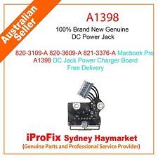 820-3109-A 820-3609-A 821-3376-A Macbook Pro A1398 DC Jack Power Charger Board