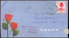 Thailand Registered Cover #C15342
