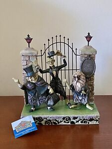 Disney Haunted Mansion Hitchhiking Ghosts 40th Anniversary Jim Shore LED Edition