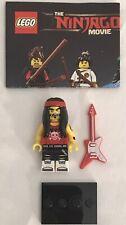 Lego Ninjago Movie GONG & GUITAR ROCKER Minifigure, 71019