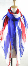 Union Jack Reino Unido Souvenir Bandera Regalo ladies/girls impresión Fashion Maxi Bufanda Pareo