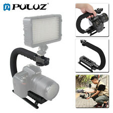 PULUZ  C Shape Bracket Video Handle Handheld Stabilizer Grip for DSLR SLR