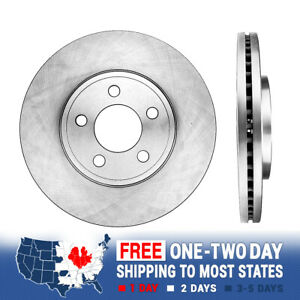 Front Brake Rotors For FORD CROWN VICTORIA GRAND MARQUIS LINCOLN TOWN CAR