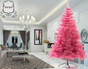 XMAS SALE :1.8m/6ft Luxury Decoration Pink Artificial Christmas Tree Xmas PVC