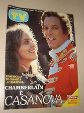 TV SORRISI CANZONI=1987/47=RICHARD CHAMBERLAIN IL VENEZIANO=RENATO ZERO=ROBOCOP=