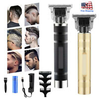 Electric Hair Clipper Pro Cordless Close-Cutting Trimmer Beard Barber Haircut US