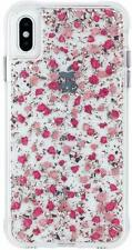 Apple iPhone XS Max Case Case-Mate Karat Petals Ditsy Flowers Protective Cover