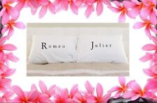 """Romeo & Juliet"" Pillow Cases - Romantic Love Gifts"
