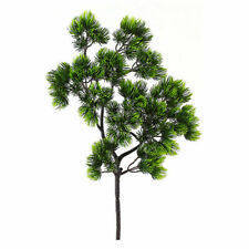 Artificial Pine Fake Green Plant Simulation Potted Tree Bonsai Home Office Decor