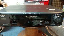 Make offer! Sharp Vc-H982U Vcr Vhs Cassette Recorder Hi-Fi 19 Micron 4-Head