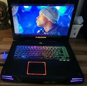 "Alienware M15X 15.6"" i7 1.60ghz 8Gb 1TB GeForce GT240 Hdd Windows 8.1"