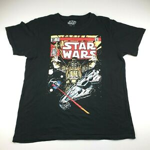 Star Wars Darth Vader Comic Graphic Men's T shirt XL Lucas Films   Great Cond